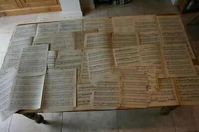 1 Kg Vintage Sheet Music for Crafting, Decoupage and Art Projects etc.