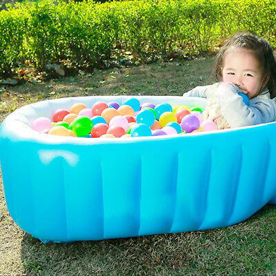 Newborn Thick Bath Tub Safe Baby Kids Summer Portable Travel Inflatable Bathtub