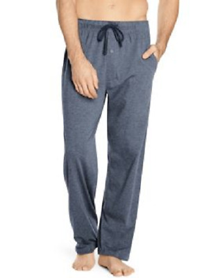 Hanes Mens X-Temp™ Sleep Lounge Solid Knit Pants With Front Pockets New 5-Colors