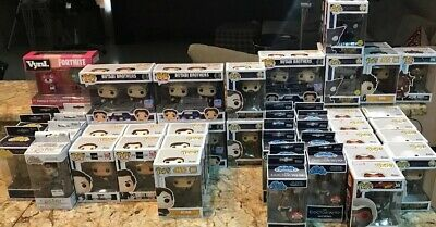 Funko POP! MARVEL,ROCK CANDY,FORTNITE,SNL,CDC,STARWARS MULTIPLES Lot of 48