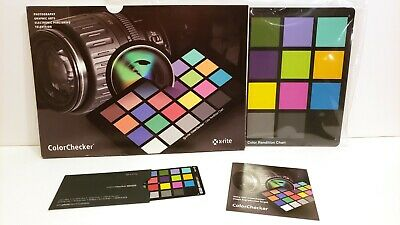 "X-Rite Color Checker Exposure Aid 8-1/2"" x 11"""
