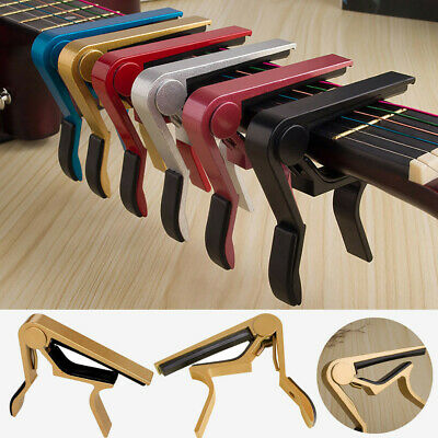 Change Tune Clamp Key Trigger Capo Acoustic Electric Guitar Accessories
