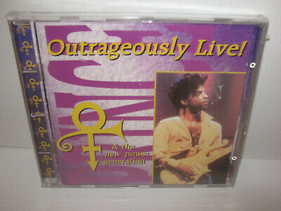 PRINCE – Outrageously Live! – CD