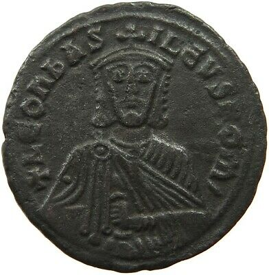 BYZANTINE EMPIRE LEO VI. 886-912 FOLLIS RATTO 1873  #sg 275