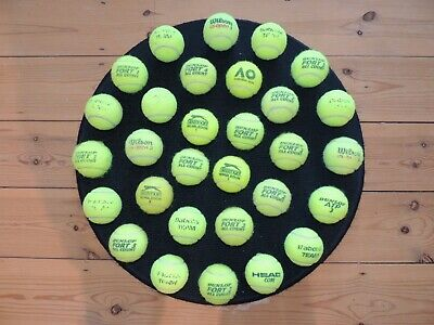 30 Used Tennis Balls, Great for coaching, beach cricket or lucky dogs!