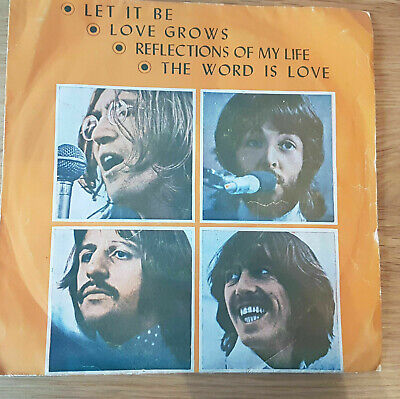 "THE BEATLES "" LET IT BE "" THAILAND EP No.G.R.372"