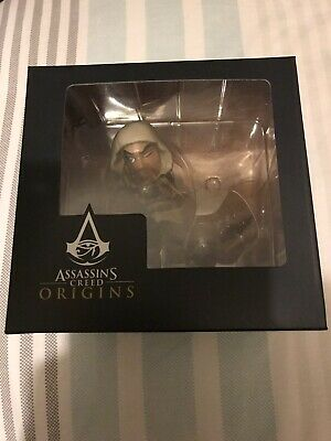 Exclusive ASSASSINS CREED origins BAYEK screenshot figure BNIB statue loot crate