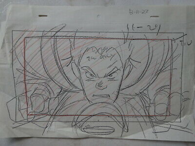 Sketchbook Settei A3 Anime Cel Animation Japan