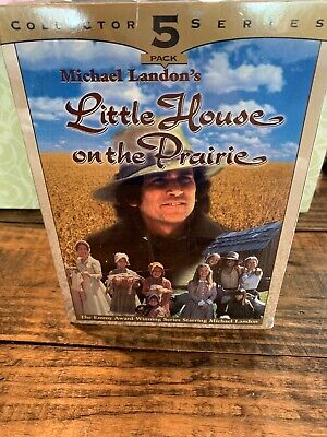 """Little House On The Prairie - 5 Pack Collector Series - """"VHS"""" Tapes - NEW SEALED"""