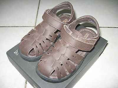 New Boys Toddlers Kenneth Cole Reaction Doing Climb 2 Fisherman Sandals Brn S 10