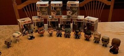 Funko Pop Lot Of 22 Unmasked Captain America And Other Rare Exclusives