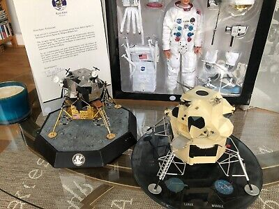 Apollo 11 Grumman Lunar Module Officail Contractors Model Moon Landing  Rare