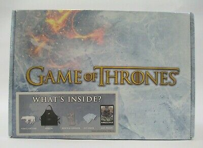 "New GAME OF THRONES CULTUREFLY BOX VINYL FIGURE ART PRINT Sealed ""I"""
