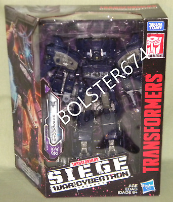 SHOCKWAVE Transformers Siege War For Cybertron Leader Class 2019
