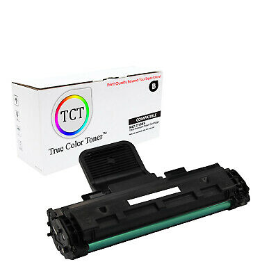 TCT Black MLT-D108S Toner Cartridge Samsung ML-1640 ML-2240 printer series