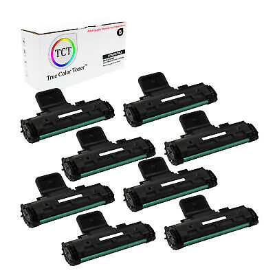 TCT 8PK Black MLT-D108S Toner Cartridges Samsung ML-1640 ML-2240 printer series