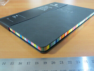 Diary 2020 Debden Edge A5 Week to View Rainbow Page Edges Flex Soft PVC Cover