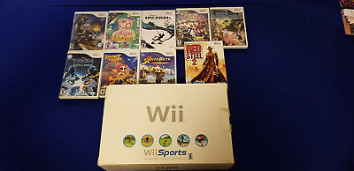 Nintendo Wii Console and Game Lot (Nintendo Wii, Games, Game lot, Console)