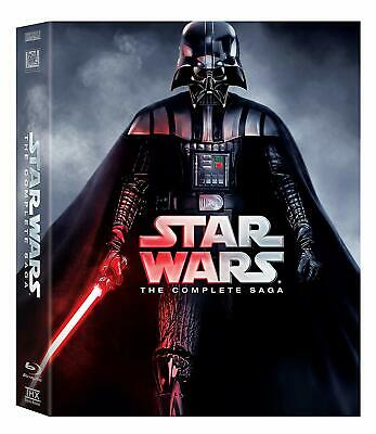 Star Wars: Complete Saga (DVD, 12-Disc Set)