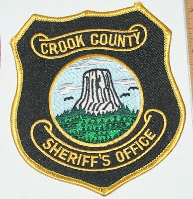 WY CAMPBELL COUNTY Wyoming Sheriff Patch - $9 95 | PicClick