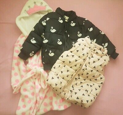 Girls jacket, vest and dressing gown Bundle Size 3-4 Cotton on kids