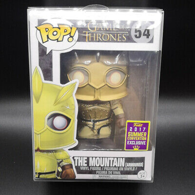 Funko Pop The Mountain #54 Game of Thrones SDCC Exclusive With Protector case
