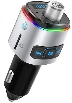 McGee Fm Transmitter Car Bluetooth Hands Free MP3 Player Wireless Aux Dual USB