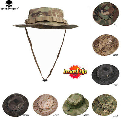 Emerson Tactical Military Boonie Hat Outdoor Hunting Fishing Camo Hats Headwear
