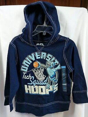 The Children's Place Boys Size 3T Shirt Pullover Hood Long Sleeve Basketball