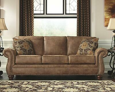 Ashley Furniture Brown Soft Leather