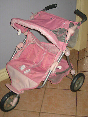 ****BABY BORN VALCRO TWIN DOLL STROLLER****Pick-up Only****