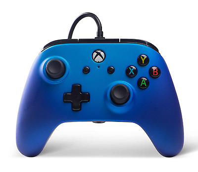 Enhanced Wired Controller for Xbox One - Sapphire Fade xbox_one