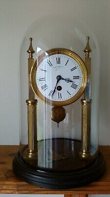 Benetfink & Co. Portico Clock with Large Dome
