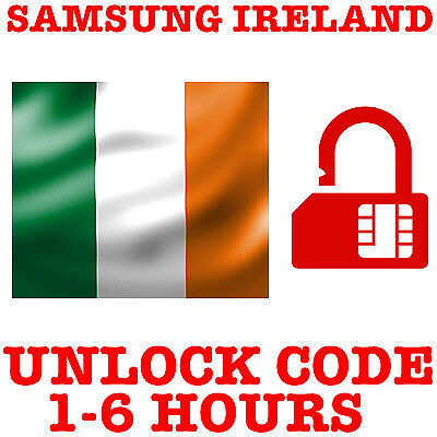 Unlock Code For Samsung Galaxy S8 S7 S6 S5 S4 3 Meteor Vodafone O2 Tesco Ireland