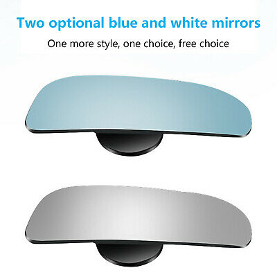 2x 360° Car Rear View Side Mirror Wide Angle Auxiliary Sight Blind Spot Mirror