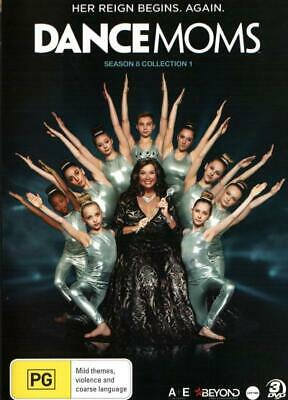 Dance Moms Season 8 Collection 1  - DVD - NEW Region 4