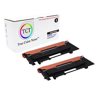 TCT 2PK CLT406S Black Toner Cartridge Set Samsung CLP 360 365 CLX 3300 3305fw
