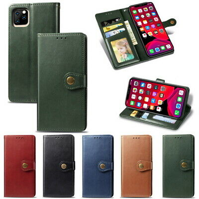 For iPhone 11 Pro Max XS XR X 7 8 6s Plus Leather Case Wallet Card Flip Cover