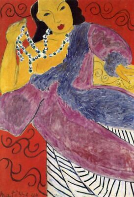 The Idol By Henri Matisse Paint By Number Kit DIY Painting Artwork