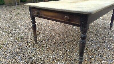 Scrub top Farmhouse Pine table Beautiful untouched