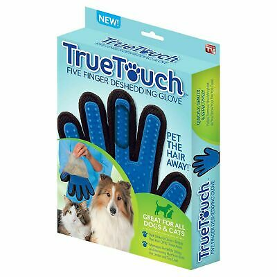 FiveFinger Deshedding Glove for Pet Grooming Cats & Dogs As seen on TV