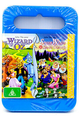 The Wizard of Oz / Snow White and the Seven Dwarfs MOVIE PAL DVD NEW SEALED