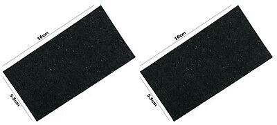 2 X Cat Centre Spare Filter for the hooded Litter Tray 16x5.5cm Charcoal Filter