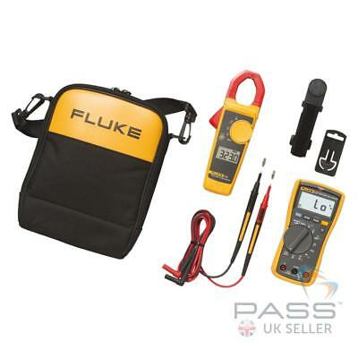*NEW* Fluke 117/323 Electrician's Multimeter and Clamp Meter Combo Kit