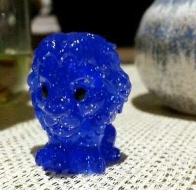 Woolworths Lion King Ooshie Blue Glitter Spirit Mufasa collectible the ooshies