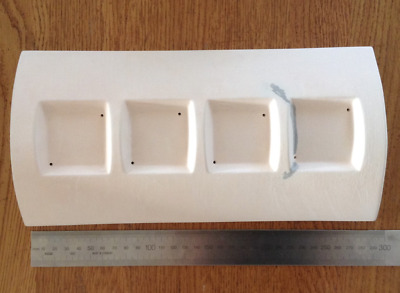 Slumping Mould for Fused Glass, Four Candle Bridge by Creative Ceramics