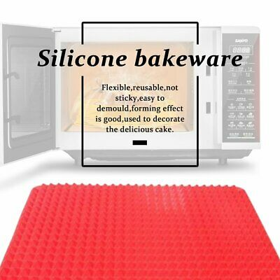 Thin Safe Food-Grade Silicone Cooking Tray Non Stick Silicone Baking Mat Sp