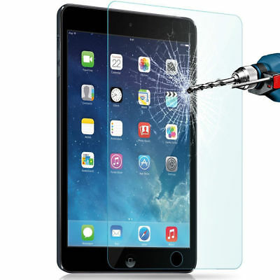 PM_ TEMPERED GLASS Screen Protector for iPad 2 3 4 5 6 Air Mini 7.9 Pro 9.7 10