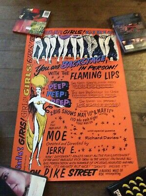 Flaming Lips Concert Poster Seattle