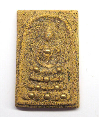 thai buddha amulet Magic Powder PHRA SOMDEJ LP THO Wat RaKang Amulet  T5-0328